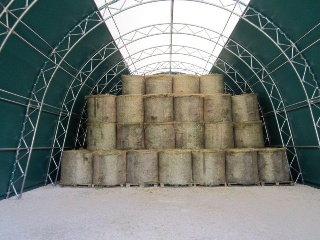 Biomass Storage Building