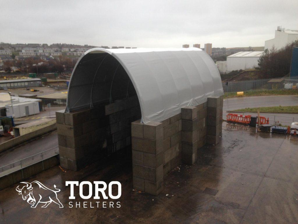 Toro Biomass Storage Bay