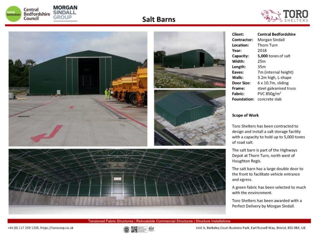Salt Barn 25x35m